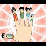 The Finger Family (Indian Family) Nursery Rhyme | Cartoon Animation Songs For Children