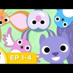 Treetop Family | Episodes 1 – 4 Compilation