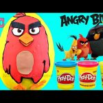 The Angry Birds Movie RED Giant Play doh Surprise EGG Bling Bags disney Finding Dory Toys Lalaloopsy