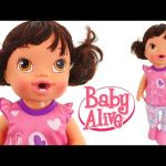 Brush My Baby Dolls Teeth — Baby Alive Play Doh — Diaper & Sippy Cup