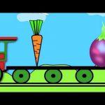Vegetable Train:Learning for Kids