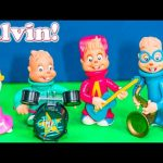 ALVIN AND THE CHIPMUNKS SUrprise Blind Bags Rock n' Roll Alvin SImon Theodore Toy Video