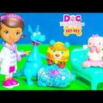 DOC MCSTUFFINS Disney Jr  Doc McStuffins Big Giant Squibbles Video Toy Parody