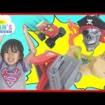 Hot Wheels Monster Jam Pirate TakeDown Toy Cars For Kids Egg Surprise Toy Ryan ToysReview