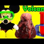 Mickey Mouse How to Make a Volcano Science Project