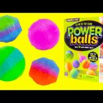 How to Make Glow In the Dark Bouncy Power Balls