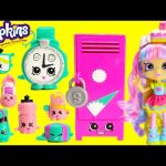 Shopkins Gym Fashion Collection Playset with Rainbow Kate Grossery Surprises