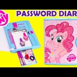 My Little Pony Password Diary Pinkie Pie and Cosmetic Backpack