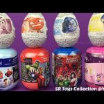 Surprise Toys for Kids Iron Man Batman Princess Belle Disney Inside Out Chocolate Surprise Eggs
