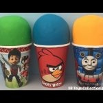 Play Doh Surprise Toys Angry Birds Teenage Mutant Ninja Turtles Blind Bags Paw Patrol My Little Pony
