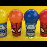 Balls Surprise Spider Man Cups Marvel Avengers Mashems My Little Pony Squishy Pops Zootopia Egg