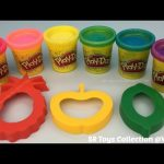 Play Doh Sparkle with Fruits Molds Fun for Kids