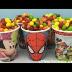 Candy Surprise Cups Finding Dory Marvel Avengers Iron Man Disney Frozen Shopkins My Little Pony Toys