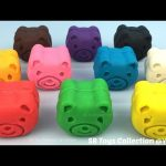 Playdough Teddy Bears with Elmo Molds Fun and Creative for Children
