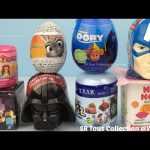Surprise Toy Disney Princess Num Noms Captain America Star Wars Minecraft Finding Dory Zootopia Eggs