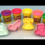 Play Doh Sparkle Compound Collection with Fashion Theme Molds Fun Creative for Kids