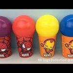 Spider Man Iron Man Surprise Cups with Donald Duck Batman Toys Disney Frozen Surprise Egg