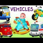 Surprise Eggs Vehicles For Kids | Baby, Passenger, Public Transport & Utility Vehicles | ChuChu TV