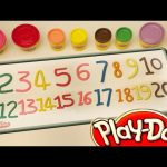 Play Doh – Learn Numbers 1 – 20 Number Song Play Doh Numbers