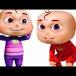 Head Shoulders Knees And Toes By Five Little Babies | Zool Babies Fun Songs| Kids Songs