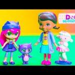 DOC MCSTUFFINS Disney + Little Charmers Doc McStuffins Cure Hiccups Little Charmers Video Toy Parody
