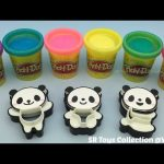 Play Doh Sparkle with Panda Molds Fun for Kids