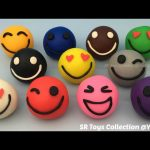 Play and Learn Colours with Playdough Smiley Face with Vehicle Molds Fun & Creative for Kids