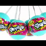 SHOPKINS Christmas Surprise Egg Ornaments – Season 3 Shopkins Inside