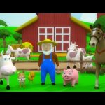 Kids TV Nursery Rhymes – Old MacDonald had a Farm | Old MacDonald had a Farm 3D Rhyme