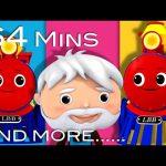 Train Song | Plus Lots More Nursery Rhymes | From LittleBabyBum!