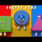 Kids TV Nursery Rhymes – Shapes Song | Shapes | 3d Shapes Song