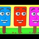 Learn Colors with Ice Cream 3D Teach Colours Baby Children Learning Videos Nursery Rhymes Kids Songs
