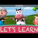 "Let's Learn ""Old MacDonald Had A Farm""! With LittleBabyBum!"