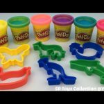 Play Doh Sparkle Compound Collection with Animals Molds Fun & Creative for Children