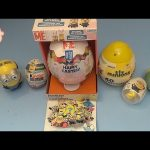 M & M Minions Surprise Egg and Blind Bag Opening Party! Part 2