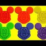 LEARN Colors with Mickey Mouse Club House Friends Magical Microwave