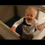 Baby Michael Gets Super Excited and Twerks! Over Food