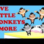 Five Little Monkeys | Johnny Johnny | Finger Family | Plus More