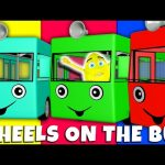 Wheels On The Bus Part 3 Collection Nursery Rhymes Compilation by Animated Surprise Egg
