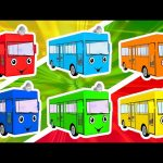 Colors for Children to Learn with 3D Color Bus Toy – Colours for Kids to Learn – Learning Videos