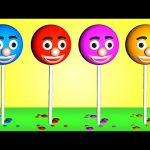 Learn Colors LOLLIPOP 3D | Teach Colours Baby Children Kids Video by Animated Surprise Eggs TV