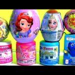 TOYS SURPRISES Frozen Elsa Disney Princess Sofia My Little Pony Chupa Chups Mashems & Fashems