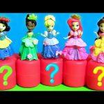 Disney Princess Fashems & Mashems Toys 。◕‿◕。 Snow White, Rapunzel, Belle, Ariel, Anna, Elsa, Frozen