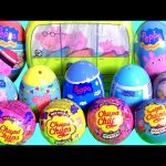 Peppa Pig Toys Surprise Complete Collection Chupa Chups Surprise Eggs Clay Play-Doh Stampers 。◕‿◕。