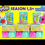 Shopkins Happy Places Season 1 and 5