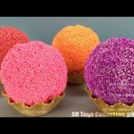 Foam Clay Ice Cream Balls Surprise Toys Paw Patrol My Little Pony Finding Dory Disney Princess Eggs