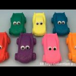 Glitter Play Doh Cars with Cars Molds Fun for Kids