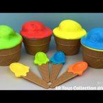 Ice Cream Clay Slime Surprise Eggs Disney Frozen Finding Dory Disney Princess Star Wars Toys