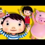 Jumping Around!   Action Song!   Nursery Rhymes   Original Song By LittleBabyBum!