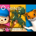 Pop Goes The Weasel | Plus Lots More Nursery Rhymes | From LittleBabyBum!